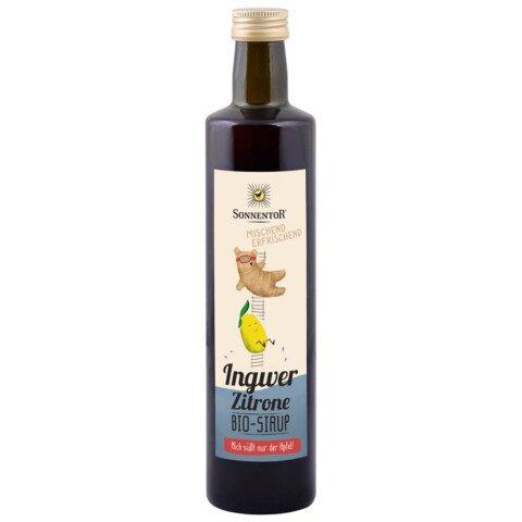 Bio Ingwer-Zitronen Sirup