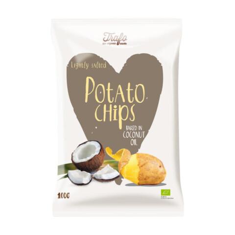 Bio Chips in Kokosöl