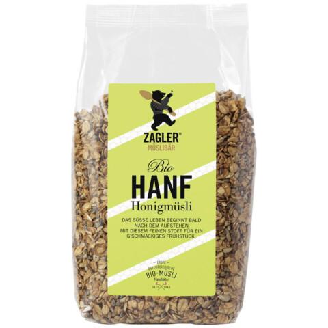 Bio Hanf-Honigmüsli