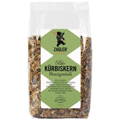 Bio Kürbiskern-Honigmüsli