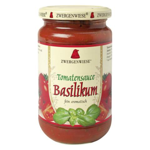 Bio Tomatensauce-Basilikum