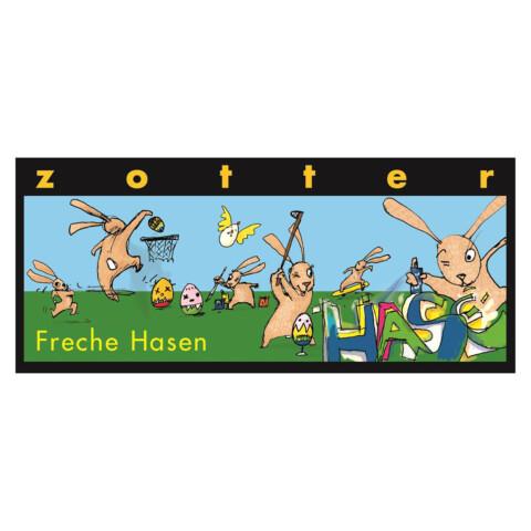 """Zotter """"Freche Hasen"""""""
