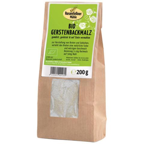 Bio Gerstenbackmalz