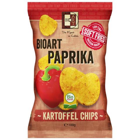 Bio Kartoffel Chips Paprika