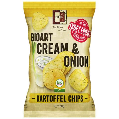 Bio Kartoffel Chips Sauer Cream