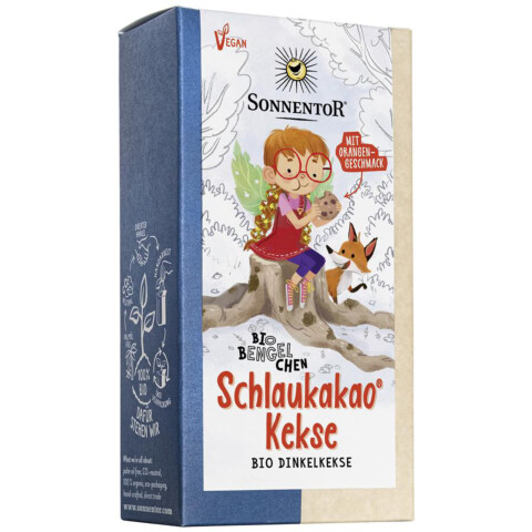 Bio Schlaukakao-Kekse