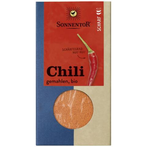 Bio Chili gemahlen Sonnentor