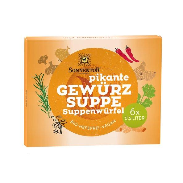 Bio Suppenwürfel pikant Sonnentor