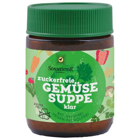 Bio zuckerfrei Gemüse Suppe
