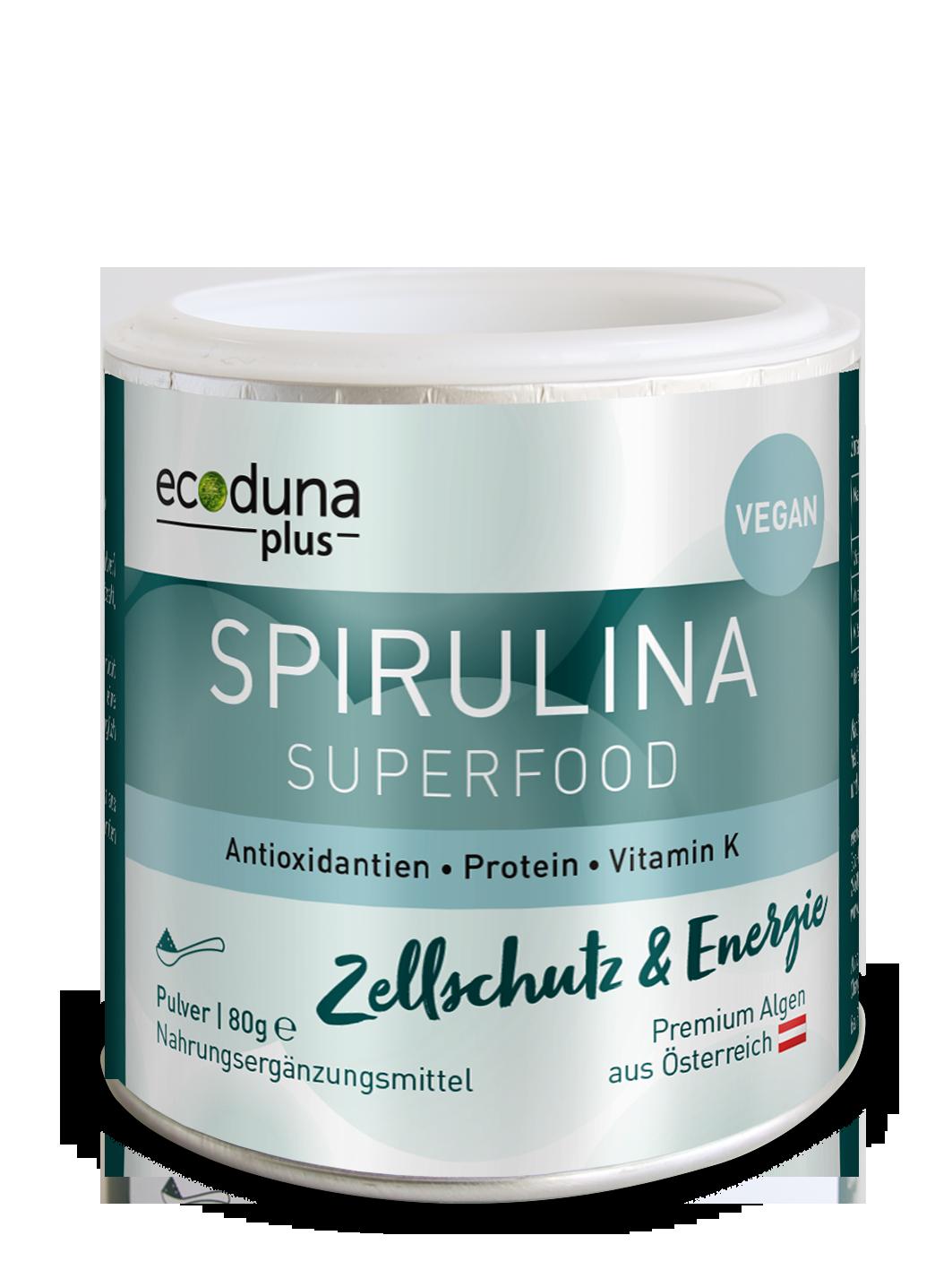 Spirulina Pulver Ecoduna